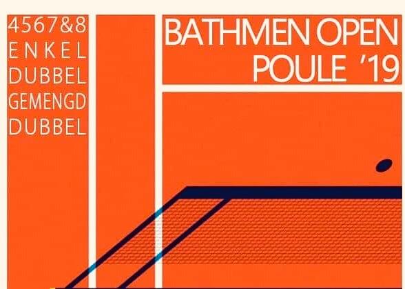 Bathmen open poule toernooi 2019