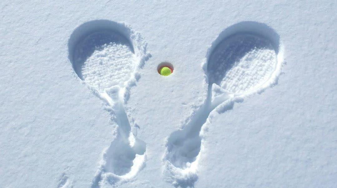 Tennisbanen gesloten voor de winter