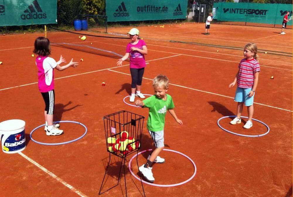 Opstarten tennistraining jeugdleden