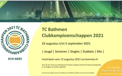 TCB Clubkampioenschappen 2021